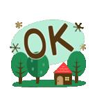 北欧風すたんぷ★森の毎日使える日常会話(個別スタンプ:13)