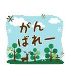 北欧風すたんぷ★森の毎日使える日常会話(個別スタンプ:24)
