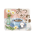 ほんわかさん【毎日便利 冬とお花】No.11(個別スタンプ:25)