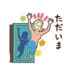 淡いレトロ女子ぃず2【日常挨拶】(個別スタンプ:19)