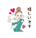 淡いレトロ女子ぃず2【日常挨拶】(個別スタンプ:28)