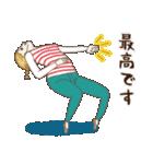 淡いレトロ女子ぃず2【日常挨拶】(個別スタンプ:37)