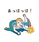 淡いレトロ女子ぃず2【日常挨拶】(個別スタンプ:38)