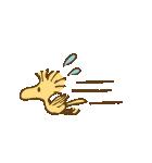 スヌーピー&ウッドストック(ビンテージ)(個別スタンプ:17)