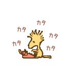 スヌーピー&ウッドストック(ビンテージ)(個別スタンプ:22)