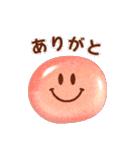 ぷくぷくスマイルマーク(個別スタンプ:1)