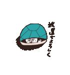 猫と亀の友情のスタンプ(個別スタンプ:12)