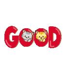 【省スペース♡】ナチュラルガール&猫(個別スタンプ:18)