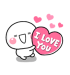 LOVE♡の気持ちを伝える特別なスタンプ(個別スタンプ:10)