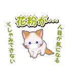 優しい春 もふもふしっぽの子猫ちゃん(個別スタンプ:6)