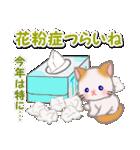優しい春 もふもふしっぽの子猫ちゃん(個別スタンプ:7)