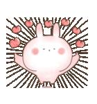 【飛び出す】ぬくうさ15♡ラブラブ(個別スタンプ:12)