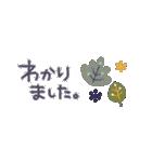 ♡北欧のナチュラル♡小さめスタンプ♡(個別スタンプ:15)