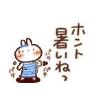 春にやさしいスタンプ【白うさぎ&インコ】(個別スタンプ:10)