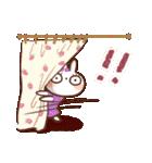 春にやさしいスタンプ【白うさぎ&インコ】(個別スタンプ:25)