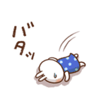 春にやさしいスタンプ【白うさぎ&インコ】(個別スタンプ:27)