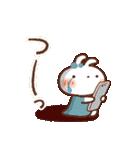 春にやさしいスタンプ【白うさぎ&インコ】(個別スタンプ:32)