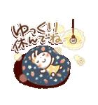 春にやさしいスタンプ【白うさぎ&インコ】(個別スタンプ:39)
