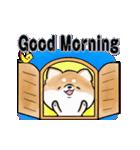 陽気で元気な柴犬(個別スタンプ:5)