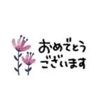 ♡大人の女性の挨拶スタンプ♡(個別スタンプ:13)