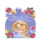 飛び出す 花と猫(個別スタンプ:5)