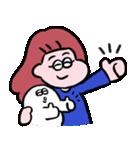 再リリース!ぱんちゃんとおもち(個別スタンプ:2)