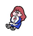 再リリース!ぱんちゃんとおもち(個別スタンプ:4)