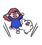 再リリース!ぱんちゃんとおもち(個別スタンプ:7)