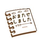 カスタム毎日使う挨拶★シンプル手書き風(個別スタンプ:20)