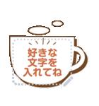 メッセージ★シンプル手書き風フレーム(個別スタンプ:14)