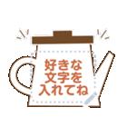 メッセージ★シンプル手書き風フレーム(個別スタンプ:15)