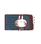 【小】毎日便利✨白うさぎさん(個別スタンプ:27)