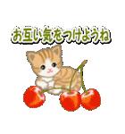 ちび猫 おいしい春(個別スタンプ:28)