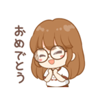 かわいい女の子キウイ(個別スタンプ:33)