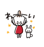 ハッピーに過ごそう♡あいさつスタンプ(個別スタンプ:21)