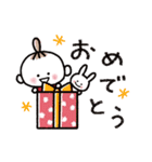ハッピーに過ごそう♡あいさつスタンプ(個別スタンプ:31)
