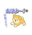 ちびもふ秋田犬 毎日使うスタンプ(個別スタンプ:2)