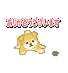 ちびもふ秋田犬 毎日使うスタンプ(個別スタンプ:18)