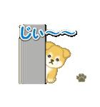 ちびもふ秋田犬 毎日使うスタンプ(個別スタンプ:24)
