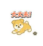 ちびもふ秋田犬 毎日使うスタンプ(個別スタンプ:27)