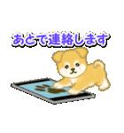 ちびもふ秋田犬 毎日使うスタンプ(個別スタンプ:34)