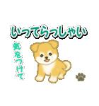 ちびもふ秋田犬 毎日使うスタンプ(個別スタンプ:38)