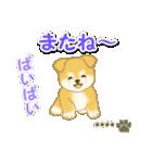 ちびもふ秋田犬【カスタム版】(個別スタンプ:8)
