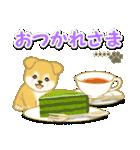 ちびもふ秋田犬【カスタム版】(個別スタンプ:14)