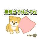 ちびもふ秋田犬【カスタム版】(個別スタンプ:15)