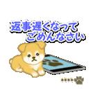 ちびもふ秋田犬【カスタム版】(個別スタンプ:33)