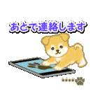 ちびもふ秋田犬【カスタム版】(個別スタンプ:34)