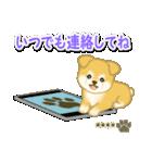 ちびもふ秋田犬【カスタム版】(個別スタンプ:35)