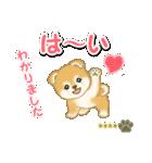 赤ちゃん豆柴 【カスタム版】(個別スタンプ:9)