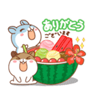 夏のハムギャング2 (日本語)(個別スタンプ:3)